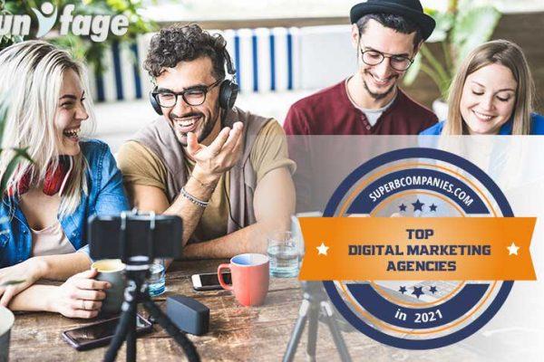 Unifage among Top Digital Marketing Agencies in 2021