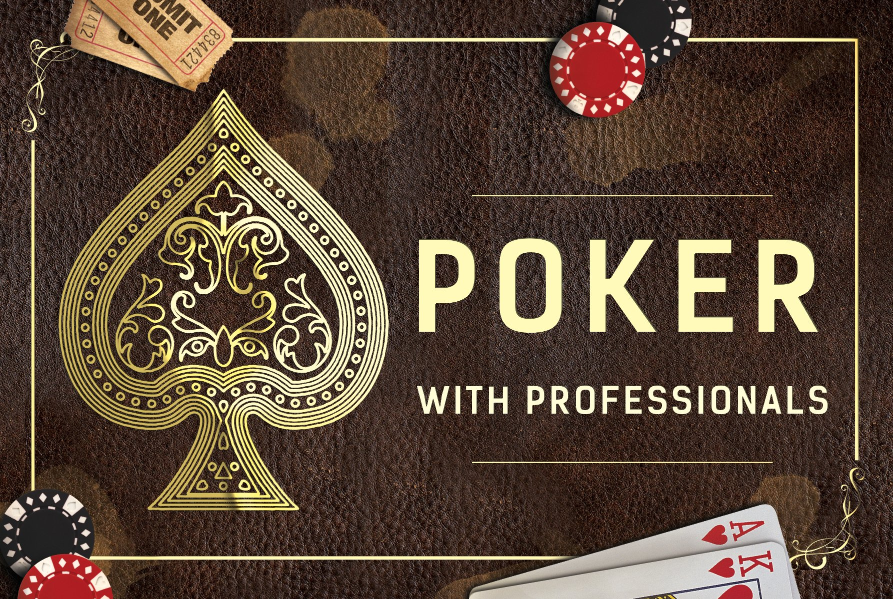 SUNPEAK Poker Tournament Flyer [landscape]